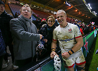 Friday 13th December 2019 | Harlequins vs Ulster Rugby<br /> <br /> Luke Marshall after the Heineken Champions Cup Round 4 clash in Pool 3, between Harlequins and Ulster Rugby and Harlequins at The Stoop, Twickenham, London, England. Photo by John Dickson / DICKSONDIGITAL