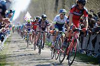 John Degenkolb (DEU/Giant-Alpecin) in sector 18: Trouée d'Arenberg - Wallers Forest (2.4km)<br /> <br /> 113th Paris-Roubaix 2015