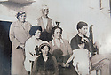 Collect photos, circa late 1800's of the family of Rosalia Capaldi, who believes she is related to new Doctor Who star Peter Capaldi, at her home in Picinisco, Italy.