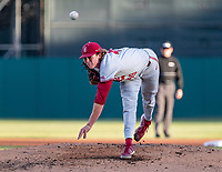 STANFORD, CA - JUNE 7: Drew Dowd during a game between UC Irvine and Stanford Baseball at Sunken Diamond on June 7, 2021 in Stanford, California.