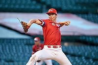 Ben Harris (13) of Milton High School in Alpharetta, Georgia during the Under Armour All-American Game presented by Baseball Factory on July 29, 2017 at Wrigley Field in Chicago, Illinois.  (Jon Durr/Four Seam Images)