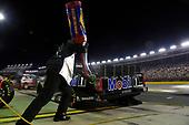 #46: Brandon Jones, Kyle Busch Motorsports, Toyota Tundra Mobil 1, makes a pit stop.