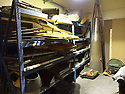 """13/03/15<br /> <br /> **Collect Photo - Best Quality Available**<br /> <br /> Parts for four Tiger Moths discovered in Belgiun barn.<br /> <br /> ***FULL STORY HERE:   http://www.fstoppress.com/articles/tiger-moth-restorations/    ****<br /> <br /> You may remember spending hours toiling over Airfix models, painstakingly following intricate instructions and trying not to glue your fingers together before painting your own miniature version of one of the RAF's or Luftwaffe's finest aircraft. Then spare a thought for one man who has just helped to restore and put together one World War Two Tiger Moth and is about to start piecing together another FOUR aircraft that were discovered in bits in a barn.<br /> <br /> Sixty-year-old Colin Temple-Smith – who wears a moustache that any Wing Commander would be proud of – has spent a lifetime restoring vintage cars and motorcycles and recently quit his job as a window fitter to help re-build the five bi-planes that will become part of a growing fleet of Tiger Moths at Derbyshire based Blue Eye Aviation.<br /> <br /> Today saw the first of the fully-restored five aircraft take to the skies.<br /> <br /> """"It's just like working on old bikes and cars, although they're a lot more fragile"""" explained Colin, whose wife runs the Aviators Café at Darley Moor Airfield near Ashbourne.<br /> <br /> """"When I was a teenager I used to be a member of a modelling club, making flying models from wood and canvas. They're very similar to build – it's really just the size that's changed with these.<br /> <br /> All Rights Reserved: F Stop Press Ltd. +44(0)1335 418629   www.fstoppress.com."""