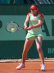 Laura Robson (GBR) loses her first round match at Roland Garros on May 28, 2012