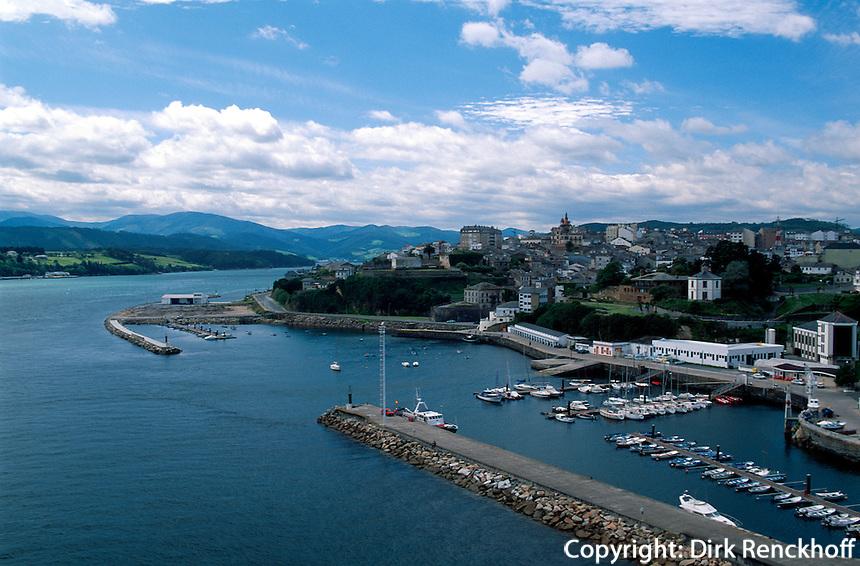 Spanien, Galicien, Meeresarm von Ribadeo