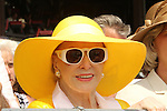 August 29 2015: Marylou Whitney watches her two year old Eternal Bird in the 4th race . Sue Kawczynski/ESW/CSM