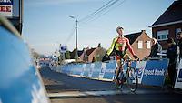 U23 race winner Laurens Sweeck (BEL/Corendon-Kwadro)<br /> <br /> GP Sven Nys 2015
