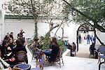 People, La Mosque Restaurant, Paris, France, Europe