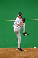 SEATTLE, WA - Randy Johnson of the Seattle Mariners in action during a game at the Kingdome in Seattle, Washington in 1997. Photo by Brad Mangin