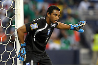 Jose Mendoza goalkeeper Honduras... Mexico defeated Honduras 2-1 after extra time to win the CONCACAF Olympic qualifying trophy at LIVESTRONG Sporting Park, Kansas City, Kansas.