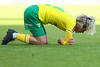 9th January 2021; Carrow Road, Norwich, Norfolk, England, English FA Cup Football, Norwich versus Coventry City; Todd Cantwell of Norwich City goes down injured