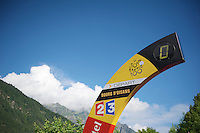départ stage 19<br /> <br /> Tour de France 2013<br /> stage 19: Bourg-d'Oisans to Le Grand-Bornand<br /> 204,5km