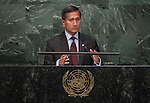 Singapore <br /> General Assembly Seventieth session 9th plenary meeting: High-level plenary meeting of the (6th meeting)
