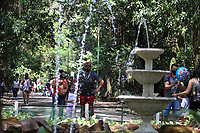 Campinas (SP), 12/10/2020 - DIA DAS CRIANÇAS-SP - Movimentação no bosque dos Jequitibas em Campinas, interior de São Paulo, neste domingo (12), dia das crianças.