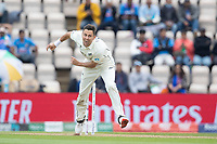 Trent Boult, New Zealand in action during India vs New Zealand, ICC World Test Championship Final Cricket at The Hampshire Bowl on 20th June 2021