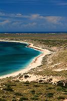 The coastline near Exmouth, Western Australia