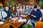Kieran McKenna, Sorcha Brick, Aoife Kissane, Dan Casey and Aidan Leahy from Abbeydorney enjoying the evening in Benners Hotel on Thursday.
