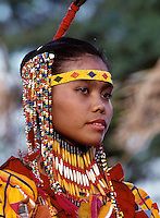 Pretty Girl a traditional Tiboli from the Philippines,Images from the Book Journey Through Colour and Time