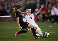Denver, CO - September 15, 2017: The USWNT defeated New Zealand 3-1 during an international friendly at Dick's Sporting Goods Park.