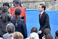 BOGOTÁ - COLOMBIA, 07-08-2018: Enrique Peña Nieto, presidente de Mexico, durante la ceremonia de juramento en donde Ivan Duque, toma posesión como presidente de la República de Colombia para el período constitucional 2018 - 22 en la Plaza Bolívar el 7 de agosto de 2018 en Bogotá, Colombia. / Enrique Peña Nieto, president of Mexico,  during the swearing ceremony where Ivan Duque, takes office to constitutional term as president of the Republic of Colombia 2018 - 22 at Plaza Bolivar on August 7, 2018 in Bogota, Colombia. Photo: VizzorImage/ Gabriel Aponte / Staff