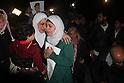 Relatives of Jordanian Pilot Hostage Hold Demonstration