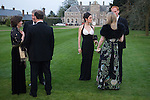 Party at large country house party Farleigh House, Farleigh Wallop, Hampshire. Hampshire 2008 2000s. UK