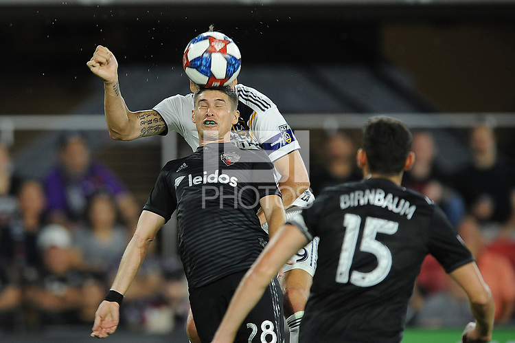Washington, D.C. - August 11, 2019: D.C. United defeated The Los Angeles Galaxy 2-1 during their Major League Soccer (MLS)  match at Audi Field.