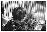 Rolling Stones 1968  Brian Jones with Keith Moon at Rock & Roll Circus..