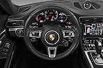 Car pictures of steering wheel view of a 2018 Porsche 911 Turbo 2 Door Coupe Steering Wheel