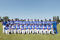 20 August 2010: Team France poses prior to France 6-5 win over Italy, at the 2010 European Championship, under 21, in Brno, Czech Republic. Right to left, first row: David Van Heyningen, Gary Garcia Martinez, Matt Lapinski, Brice Lorienne, Edison Garcia Martinez, Jorge Hereaud, Maxime Lefevre, Andy Pitcher, Sebastien Duchossoy, Andy Paz, Jean Antonio Samer, Quentin Pourcel..Second row, stand, left to right: Rodolphe Le Meur, Keino Perez, Boris Rothermundt, Simon Vicente, Joris Navarro, Jonathan Dechelle, Eloi Secleppe, Thomas Dourlens, Steven Vesque, Maxime Charlot, Luis de la Rosa, Gerardo Leroux, Jean-Michel Mayeur, Jamel Boutagra, Vincent Ferreira