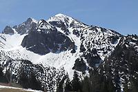 Blick von der Rosshütte - Seefeld 26.05.2021: Trainingslager der Deutschen Nationalmannschaft zur EM-Vorbereitung