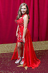 © Licensed to London News Pictures . 16/05/2015 .  The Palace Hotel , Manchester , UK . Ruby O'Donnell . The red carpet at the 2015 British Soap Awards , The Palace Hotel , Oxford Road , Manchester . Photo credit : Joel Goodman/LNP