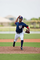 7/17/09: Kelvin Lopez of the Gulf Coast League Nationals during the game in Viera, Florida. The GCL Nationals are the Rookie League affiliate of the Washington Nationals. Photo By Scott Jontes/Four Seam Images