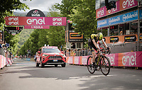 Lucas Hamilton (AUS/Mitchelton-Scott) finishes 4th at the finish in L'Aquila<br /> <br /> Stage 7: Vasto to L'Aquila (180km)<br /> 102nd Giro d'Italia 2019<br /> <br /> ©kramon