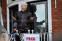 19.05.2017 - Julian Assange Speech After Sweden Drops Rape Investigation