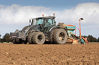 15-10-2021 Drilling Winter wheat in Lincolnshire <br />  ©Tim Scrivener Photographer 07850 303986<br />      ....Covering Agriculture In The UK....