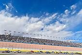 Monster Energy NASCAR Cup Series<br /> Pennzoil 400<br /> Las Vegas Motor Speedway, Las Vegas, NV USA<br /> Sunday 4 March 2018<br /> Denny Hamlin, Joe Gibbs Racing, Toyota Camry FedEx Office and Erik Jones, Joe Gibbs Racing, Toyota Camry Sport Clips<br /> World Copyright: Nigel Kinrade<br /> NKP / LAT Images