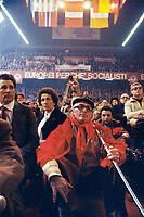 - congresso nazionale del PSI (Partito Socialista Italiano) a Milano nell'area ex Ansaldo (maggio1989)<br /> <br /> - national conference of the PSI (Italian Socialist Party) in Milan (may 1989)