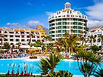 Spanien, Kanarische Inseln, Teneriffa, Playa de las Americas: Pool des Hotels Parque Santiago IV | Spain, Canary Islands, Tenerife, Playa de las Americas: Pool of hotel Parque Santiago IV