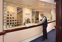 Medical practice reception area