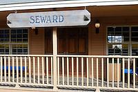 The Alaska Railroad's Seward Depot.