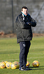 St Johnstone Training…19.12.18<br />Manager Tommy Wright pictured during training at McDiarmid Park ahead of Sunday's game against Rangers<br />Picture by Graeme Hart.<br />Copyright Perthshire Picture Agency<br />Tel: 01738 623350  Mobile: 07990 594431