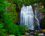 Meigs Falls in the Great Smoky Mountains National Park.