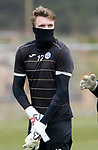 St Johnstone Training…12.05.17<br />Keeper Zander Clark pictured during training today ahead of tomorrow's game against Partick Thistle<br />Picture by Graeme Hart.<br />Copyright Perthshire Picture Agency<br />Tel: 01738 623350  Mobile: 07990 594431