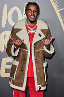 LONDON, UK. September 14, 2019: AJ Tracey at the Fashion for Relief Show 2019 at the British Museum, London.<br /> Picture: Steve Vas/Featureflash