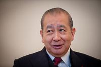 Hong Kong, November 2, 2010, ..Sir David Li Kwok-po of the Bank of East Asia...Sir David Li Kwok-po van de Bank of East Asia.