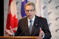 Joe Oliver,<br /> Minister of Finance, Canada <br /> attend the International Economic Forum of the Americas 20th Edition, from June 9-12, 2014 <br /> <br />  Photo : Agence Quebec Presse - Pierre Roussel