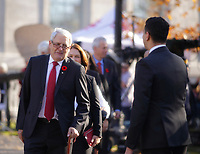 Marc Garneau<br />  and members of the 29th Canadian ministry on the grounds of Rideau Hall in Ottawa, Ontario, on Wednesday, November 4, 2015.<br /> <br /> PHOTO : Pierre Roussel<br /> - Agence Quebec Presse