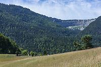 West Switzerland Jura Creux du Van - 26 June 2017   usage worldwide