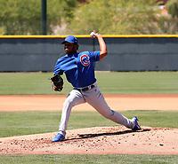 Joel Machado - Chicago Cubs 2019 extended spring training (Bill Mitchell)